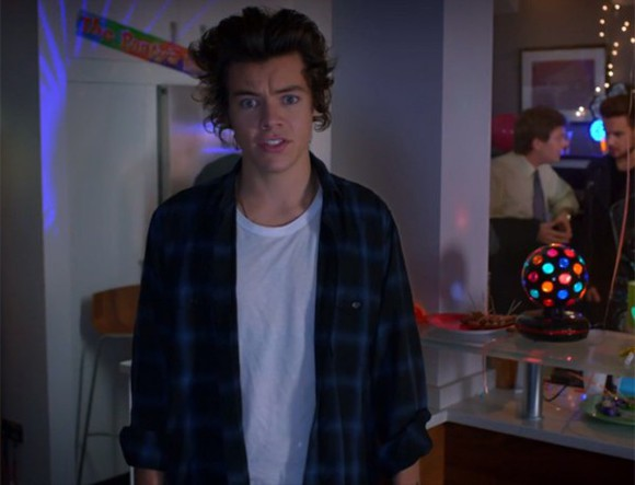 one direction harry styles flannel