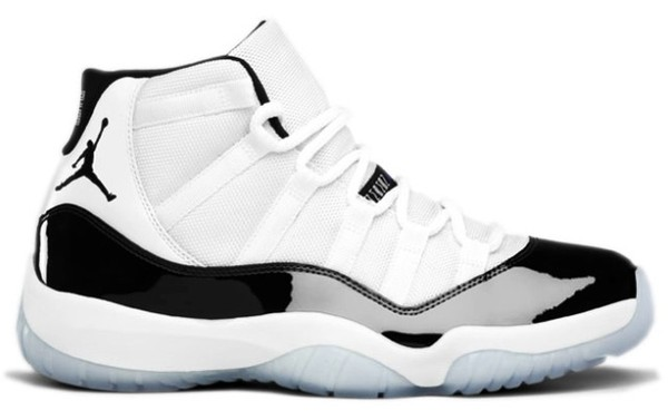 shoes concord jordans air jordan air jordan 11 black and white