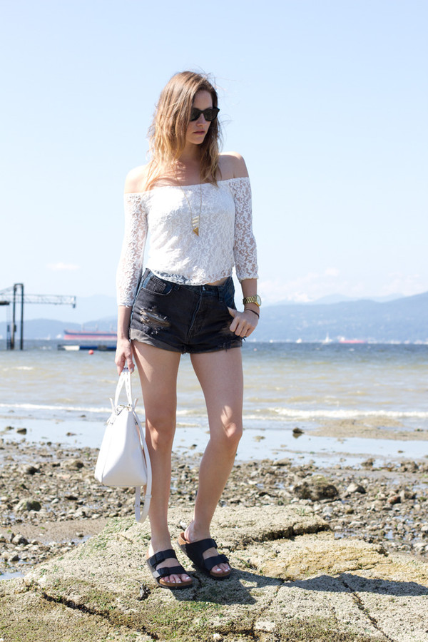 styling my life top shorts jewels shoes bag