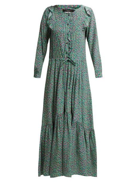 Weekend Max Mara - Agiate Dress - Womens - Green Print