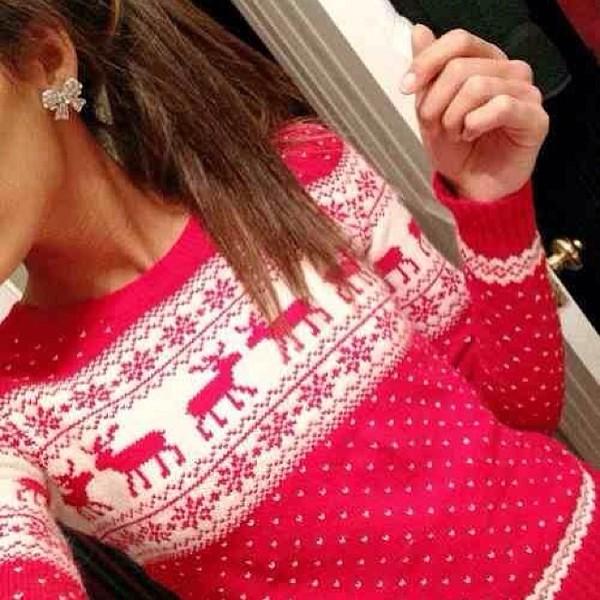 sweater christmas jewels