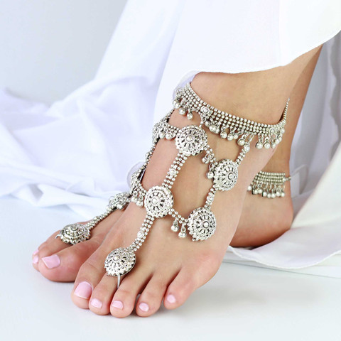 Boho Goddess Barefoot Sandals by Forever Soles | Forever Soles Bridal Shoes
