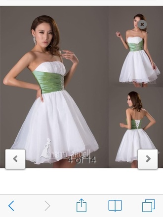 dress white tutu beautiful girl pretty sparkle hunter green white dress girly formal dress prom dress trendy instagram cool iphone cover ripped