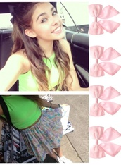 skirt,pastel,rose,madison beer,ariana grande,top,outfit,girly,hipster,bow,blouse