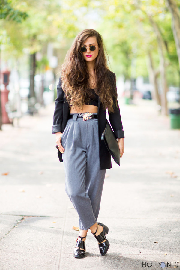 do the hotpants blogger make-up jacket underwear sunglasses belt bag crop tops