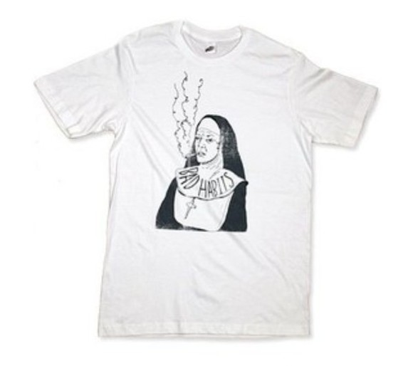 top love want want want white need now nun nuns smoking whitetee polyvore grunge
