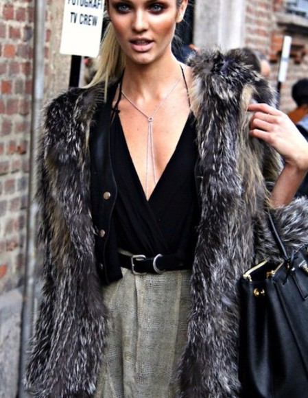 coat fur faux brown white grey black faux fur fur coat faux fur coat faux fur jacket fur jacket winter feathered feathers warm snug tank top