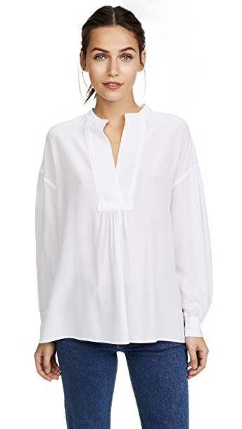 Vince blouse white top