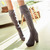Wholesale Ladies fashion comfortable knee high boots European style tasteful shoes Z-YDA-Q3 - Lovely Fashion