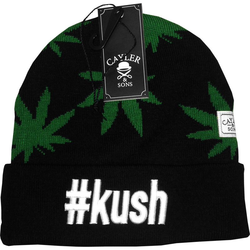 Kush beanie black/green/white, 19,92 €