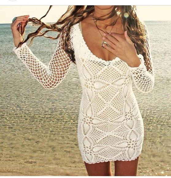 dress girly summer dress beautiful fashion lovely knitted dress love beach dress beaty