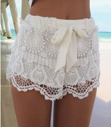 starsstores                  - fashion shorts white