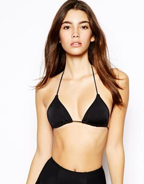 ASOS | ASOS Mix and Match Micro Brazilian Triangle Bikini Top at ASOS