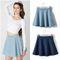 Denim mini skirt · moozoo · online store powered by storenvy