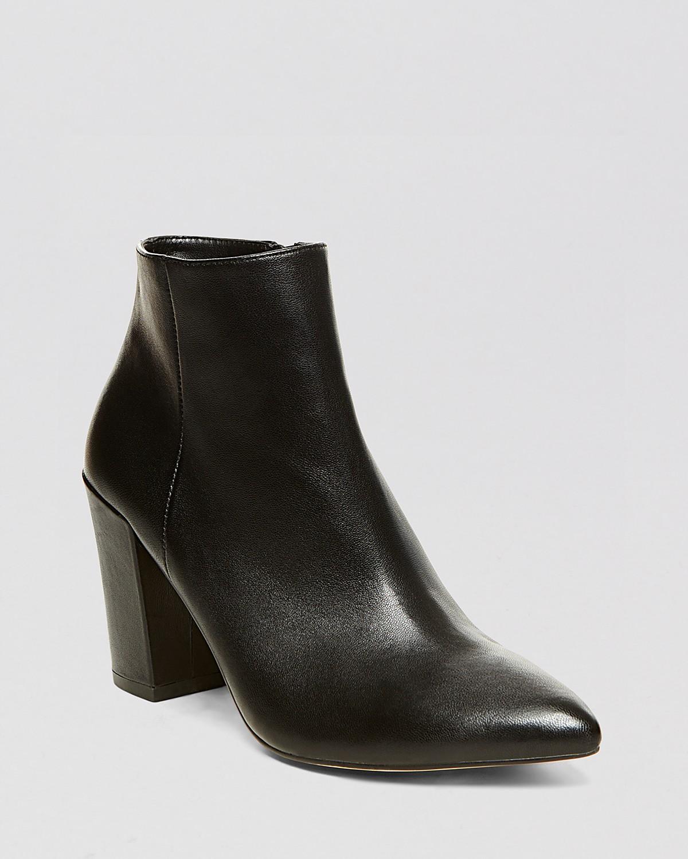 STEVEN BY STEVE MADDEN Pointed Toe Booties - Lidiaa High Heel | Bloomingdale's