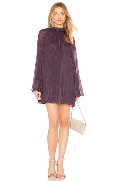 THE JETSET DIARIES dress mini dress mini purple
