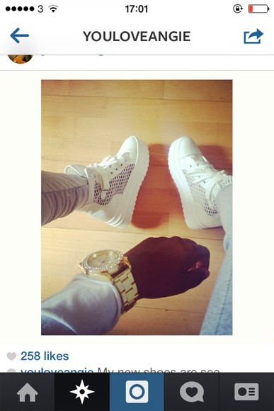 holes shoes white flatforms platform shoes white trainers lace ups