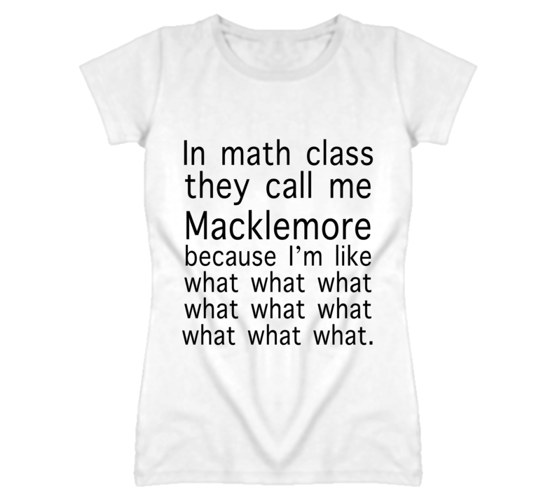 Math Class What What Funny Graphic T Shirt