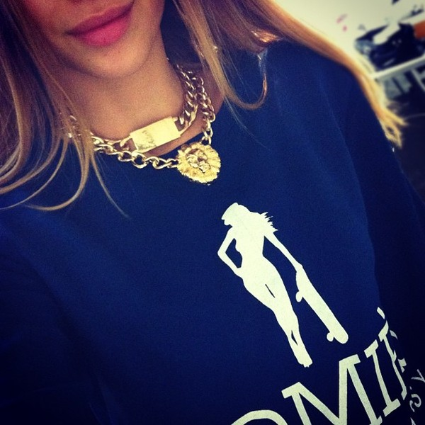 jewels gold gold chain homies sweater necklace kenza