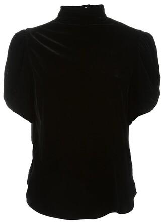 top velvet top velvet black