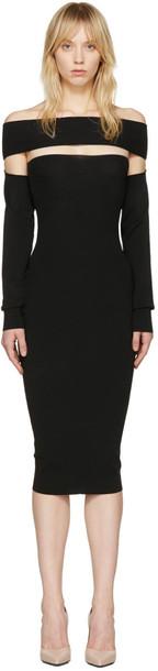 McQ Alexander McQueen dress black
