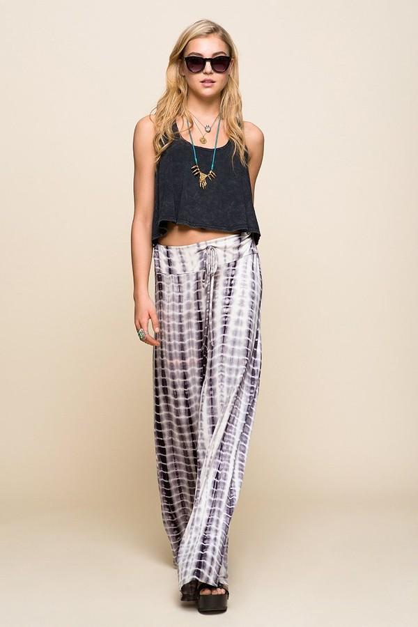 pants hippie flare