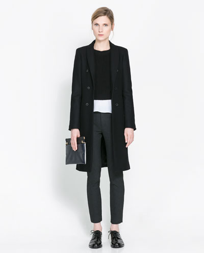 luxuriant in design various styles save up to 80% MASCULINE DOUBLE BREASTED COAT - Coats - Coats - WOMAN | ZARA Canada