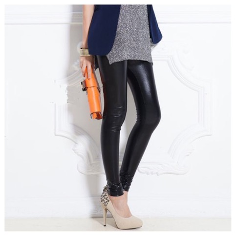 Faux leather legging from doublelw on storenvy