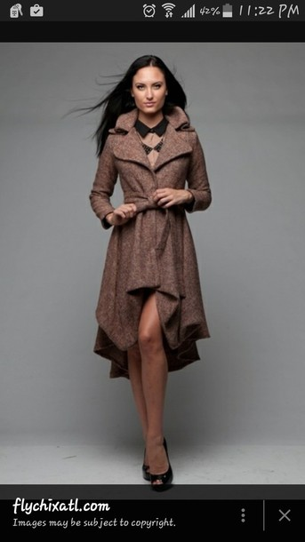 coat highlowcoat tweed jacket
