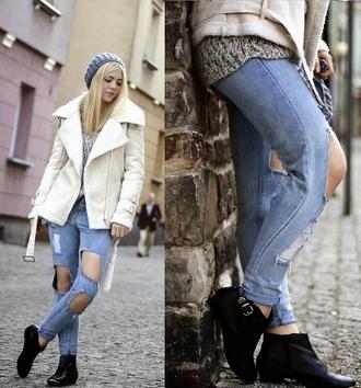 jeans swag cool streetstyle stylemoi boyfriend jeans