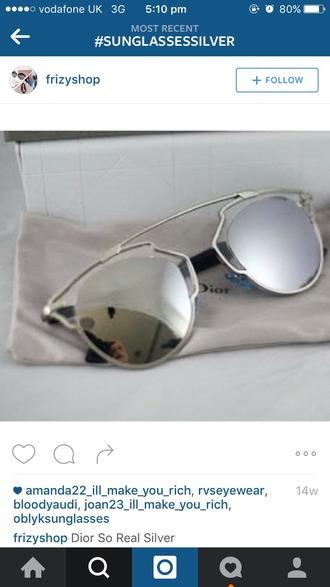 sunglasses mirrored sunglasses aviator sunglasses silver glasses sunnies style fashion trendy