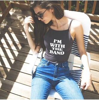 shirt cute grunge punk summer crop tops