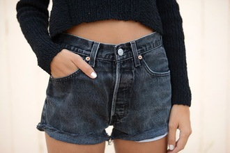 the petticoat shoes denim shorts shorts high waisted shorts summer outfits levi's blogger hipster