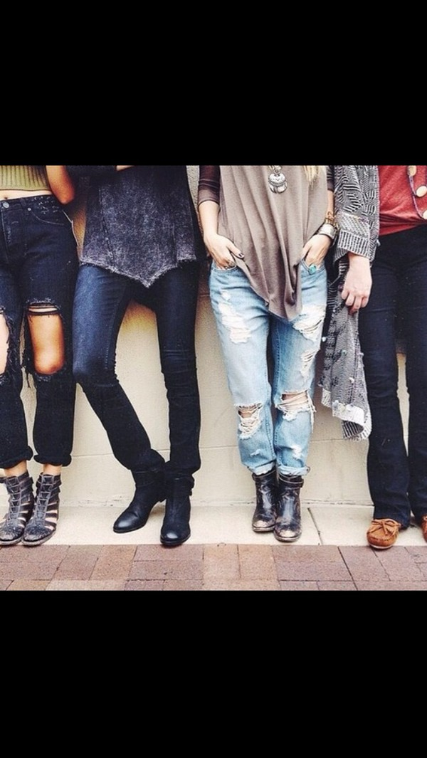 jeans topshop trendy ripped grunge ripped