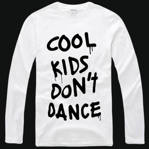 One Direction Zayn malik cool kids don't dance long sleeve t shirt-One Direction -Tshirtsky