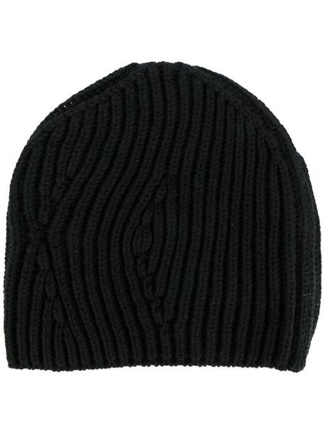 beanie knitted beanie black hat