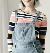 sweater,grunge,90s style,80s style,stripes,alternative,chill,cute,striped sweater,tumblr,tumblr outfit