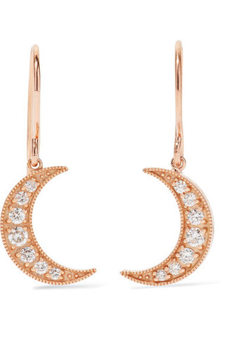 mini rose gold rose earrings gold jewels