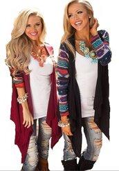 sweater,aztec,pattern,stripes,loose cardigan,streetwear,street,streetstyle,casual,preppy,musthave,loose,open stich,long sleeves,casual women,wine red,red,dark red,black,preppy top,knitwear,knitted sweater,knitted cardigan,knits,asymmetrical,asymmetrical cardigan,irregular,knitted top,jeans  top,jeans coat,knitted coat,thin,pinterest,moraki,cardigan,coat,american style