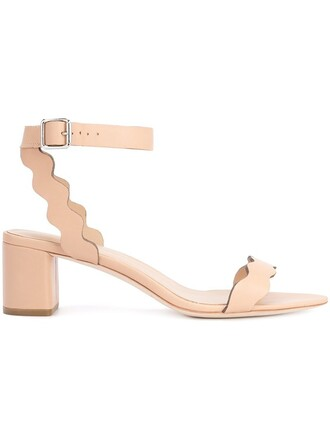 women sandals leather nude shoes