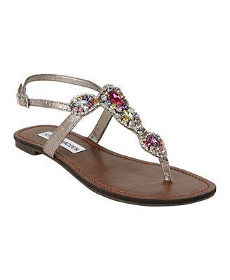 Steve Madden Glaare Flat Sandals - Shoes - Macy s