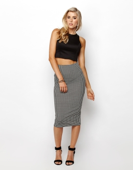 SS ZIPPED CROP - SS ZIPPED BACK FITTED CROPPED SINGLET TOP - Plain Fashion Tops
