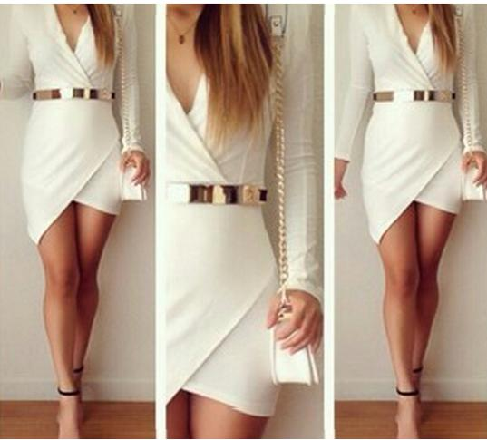 2014 summer white dress sexy women casual dress LQ9337-in Dresses from Apparel & Accessories on Aliexpress.com | Alibaba Group