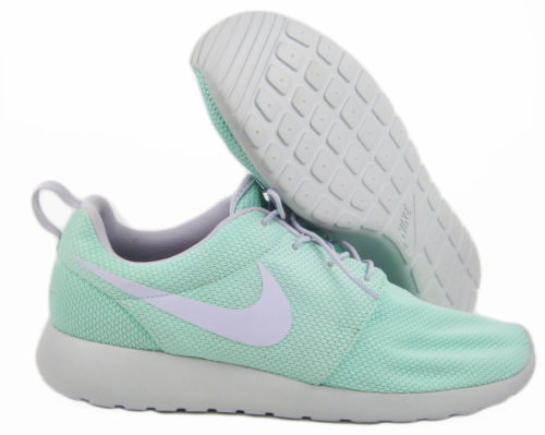 e9d7b5e1b06a4 Nike Roshe Run ID Sz 15 Light Mint Green Gray Rosherun No Insoles ...