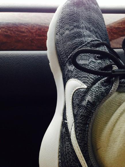 nike grey shoes nike roshe mens shoes