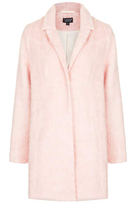 Fluffy Swing Coat - Boyfriend & Cocoon Coats - Jackets & Coats  - Clothing - Topshop