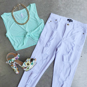 jeans,http://www.cicihot.com/clothing-pants-36p5-p-1506-white.html?color=white,white,boyfriend jeans,cute,sexy,boho,chic,giryl,fashion,girly,cicihot,http://www.cicihot.com/shoes-heels-srl-anniston-blush.html?color=blush