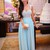 Aliexpress.com : Buy 2014 Cute Square Neck Cap Sleeves Silvery Beaded Sparkly Chiffon Light Blue A Line Beautiful Prom Dress Fashion Gowns from Reliable fashion summer dress suppliers on SFBridal
