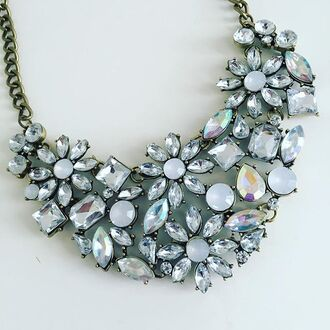 jewels cherry diva necklace statement necklace sparkle crystal jewellry princess