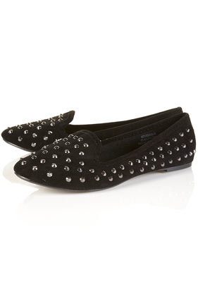 Vectra studded slippers